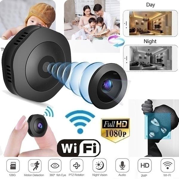 OWSOO 1080P Wireless WIFI Pan Tilt IP Camera 2.0MP 3.6mm Lens Night Vision T3Q0