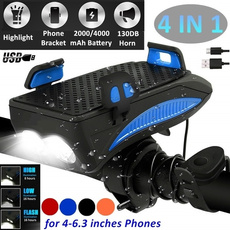 Flashlight, rechargeablebicyclelight, Rechargeable, bikephoneholder