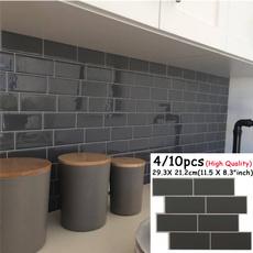 Baño, kitchendecoration, diywallpaper, Stickers