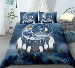 King, twinsizebeddingset, Bedding, dreamcatherbedding