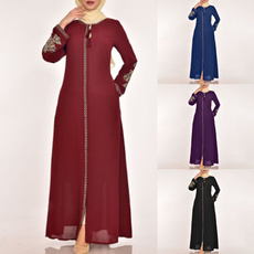 Plus Size, anklelength, Sleeve, Long Sleeve