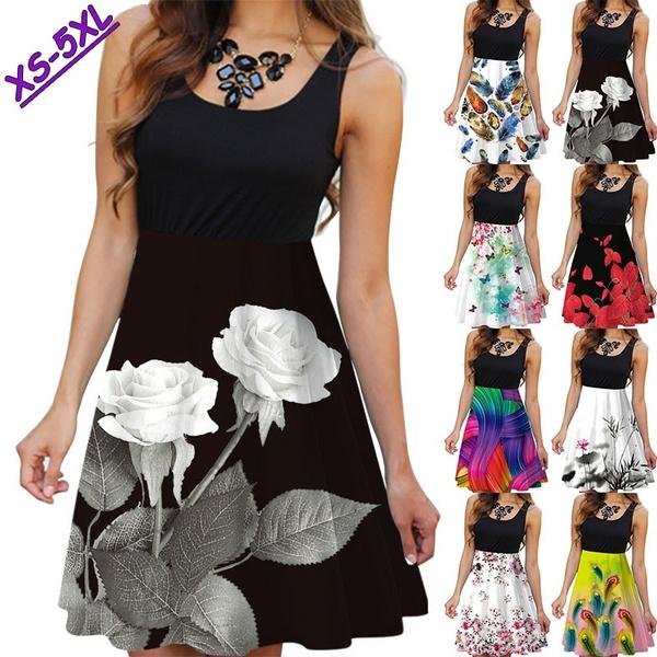 Summer, floralprinteddres, floralwomendres, Dress