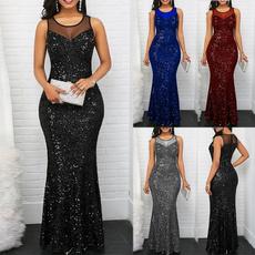 dressforwomensummer, sleeveless, Plus Size, ballgownpromdresse