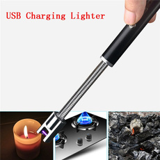 plasmapulsedarclighter, 360degreerotatinglighter, Rechargeable, bbqlighter