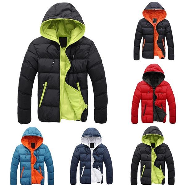 Canada Men Parka Hooded Casual Doudoune Homme Solid Hombre Jacket Fashion Plus Pluma Size Warm Winter Zipper Down Jacket AR534jqcL