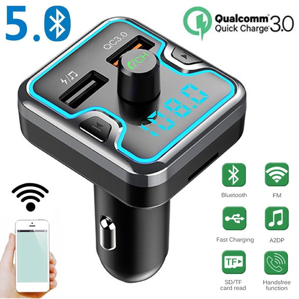 Bluetooth Car Kit FM USB Charger Transmitter Wireless Radio Adapter Mp3 Player