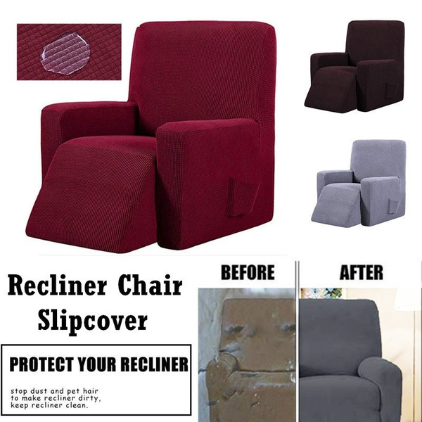 Miraculous Waterproof Elastic Recliner Chair Cover All Inclusive Massage Sofa Couch Cover Stretch Furniture Protector Anti Slip Slipcover 3Colors Customarchery Wood Chair Design Ideas Customarcherynet