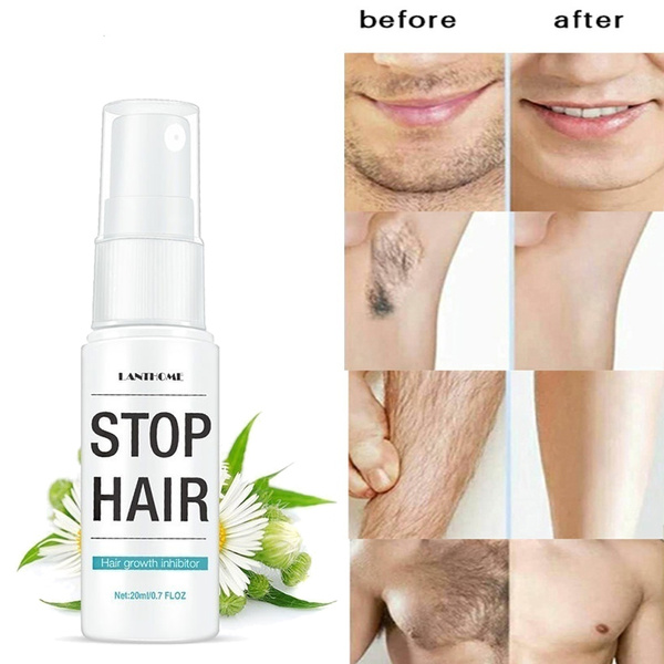 2019 New Powerful Permanent Hair Removal Spray Rejects Hair