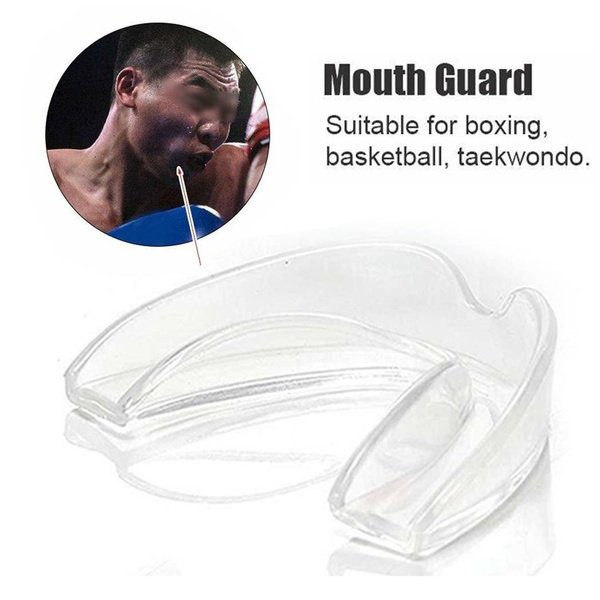 EVA Gum Mouth Guard Shield Case Teeth Grinding Boxing MMA Sports MouthPiece