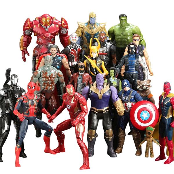 20Pcs//SET Avengers 3 Infinity War Thanos SuperHero Action Figures Kids Toys Gift