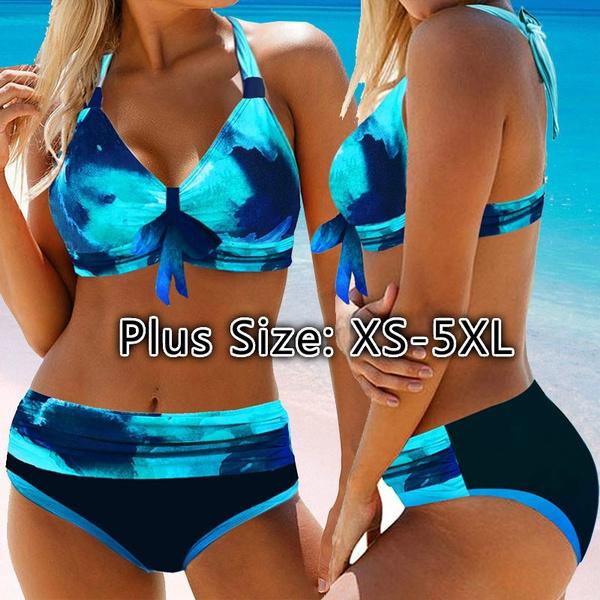 Two Piece Swimwear, Plus Size, plus size bikinis, Bikini swimwear