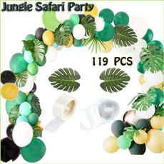 latex, Decor, junglesafari, balloongarland
