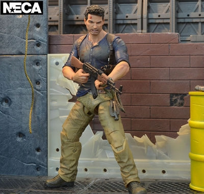 Neca Uncharted 4 A Thief S End Nathan Drake Ultimate Edition Action Figure Collectible Model Toy