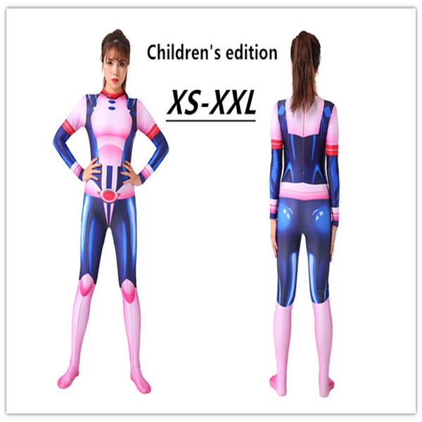 Children S Edition My Hero Academia Ochaco Uraraka Cosplay Costume