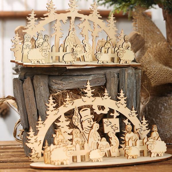 decoration, Christmas, christmasdecor, Santa Claus