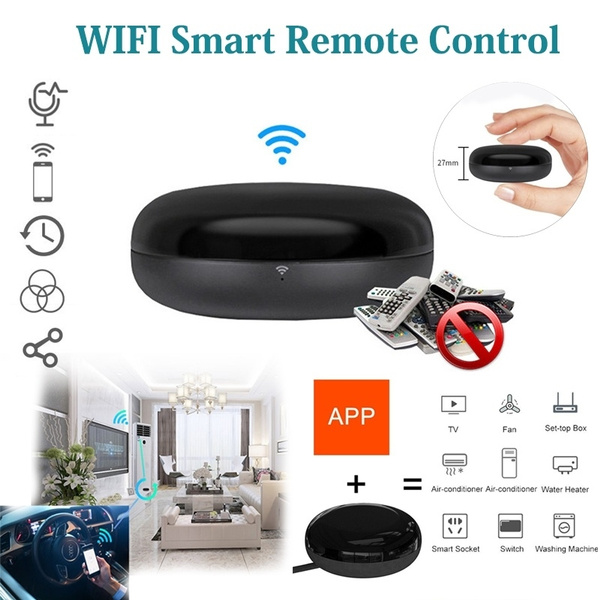 Mobile Phone Infrared Intelligent Universal Remote Control Mobile Phone  Wifi Remote Control Air Conditioning TV Smart Home Remote Control