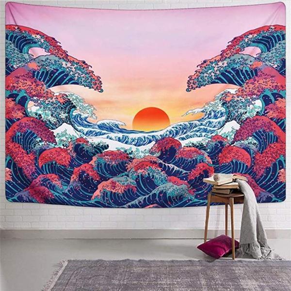 Japanese, Wall Art, Home Decor, Home & Living
