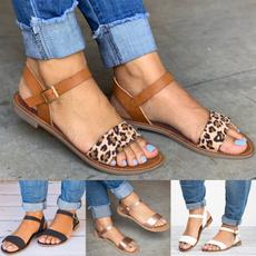 casualshoeswomen, Sandals, womenleopardsandal, fashionwomenshoe