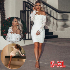 promdresseslong, Fashion, Lace, Evening Dress