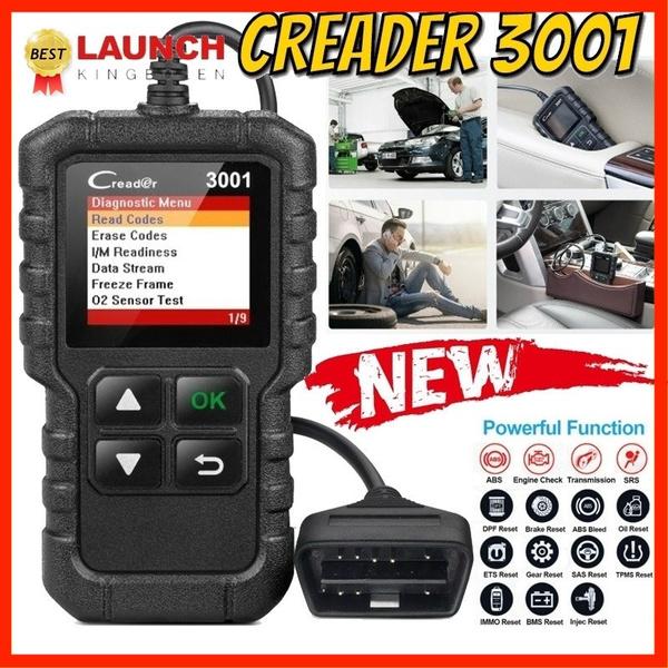 New Upgrade CR3001 OBD2 OBDII Car Automotive Erase/Reset Fault Codes  Diagnostic Scanner Car Diagnostic Tool