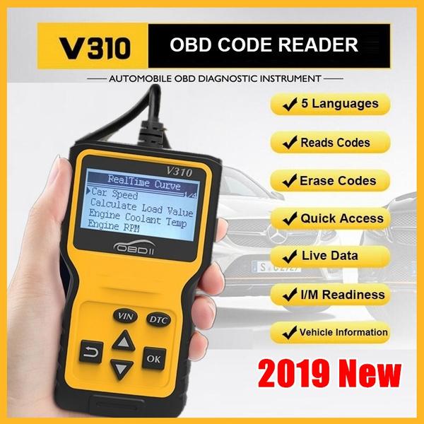 V310 Upgrade Automotive Scanner Engine Code Reader Sensor OBD2 Scaner  Automotivo Car Diagnostic Auto Diagnostic Code Reader
