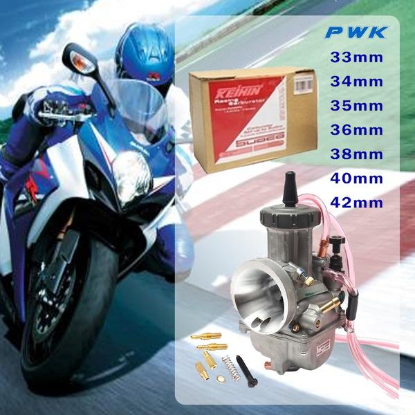 Motorcycle Keihin PWK 36mm Carburetor Universal Motor Scooter Dirt Bike Engine