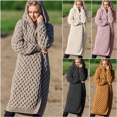 knitted, Moda, cardigancoat, Sudaderas