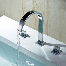 Faucets, chrome, Bathroom, basinmixer