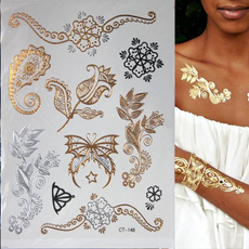 tattoo, Flowers, temporary, Jewelry