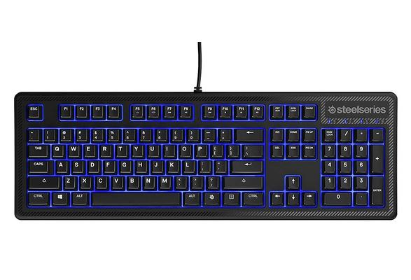 SteelSeries Apex 100 Gaming Keyboard Tactile /& Silent Blue LED Backlit