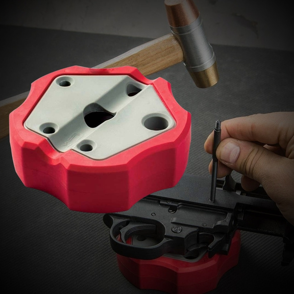 Universal Gunsmithing Bench Block Handgun Pistol 1911 Non Slip Non