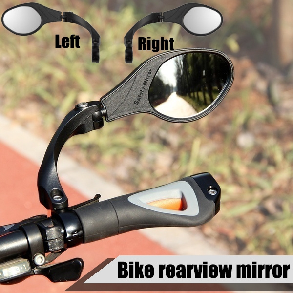 Bicycle Back Mirror Handlebar Rear View Rearview Cycling Bike Mirrors Left//Right