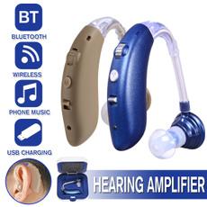 audiphone, soundamplifier, Rechargeable, deafaid