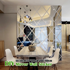 mirrorsforthewall, Home & Kitchen, Decor, DIAMOND