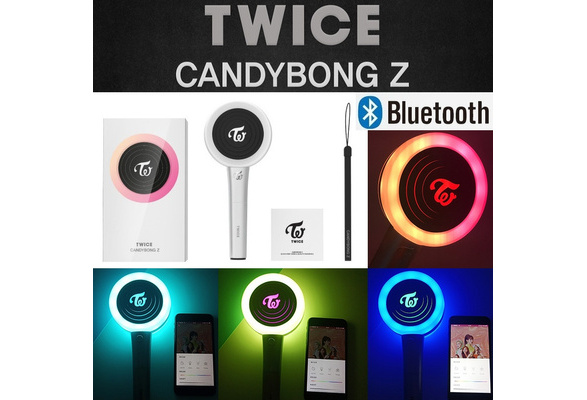 Connect to APP Kpop TWICE Lightstick Ver 2 CANDYBONG Z Concert Lamp Hiphop  Lightstick Fans Collection Fluorescent Stick Gift