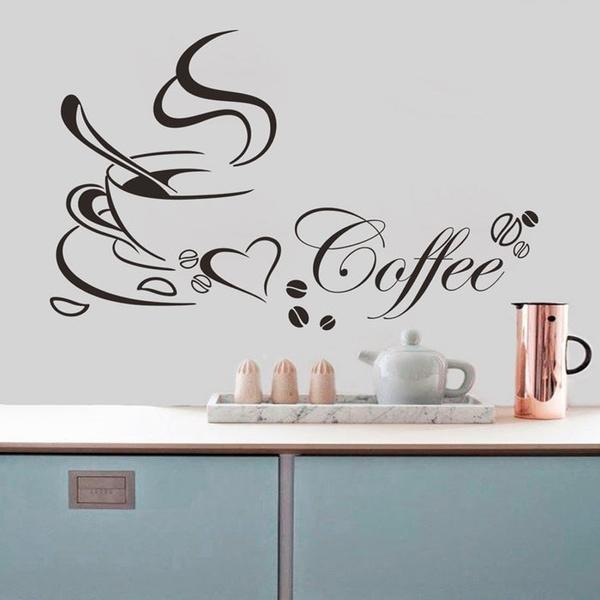 Coffee, coffeewallsticker, Stickers, kitchenwallsticker