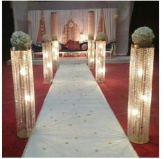 Candleholders, Flowers, Decoración de hogar, gold