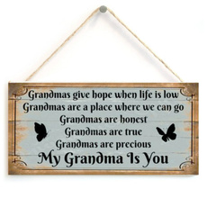 grandmagift, sign, Home Decoration, Gifts