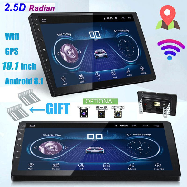 360 Rotation 2 din Android 8 0 wifi Car Multimedia player Autoradio 2Din  Car Radio Universal Car CD/DVD Player GPS Navigation FM AM USB