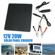Outdoor, Battery Charger, Cars, solarpanelbattery