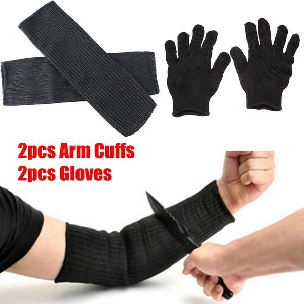 Gloves Sleeve Safety Cut Proof Stab Resistant Stainless Steel Metal Mesh