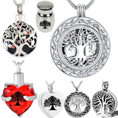 Steel, lifetree, titanium steel, Jewelry