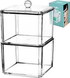 qtipholderbox, acrylicorganizer, Decor, qtipcottonswab