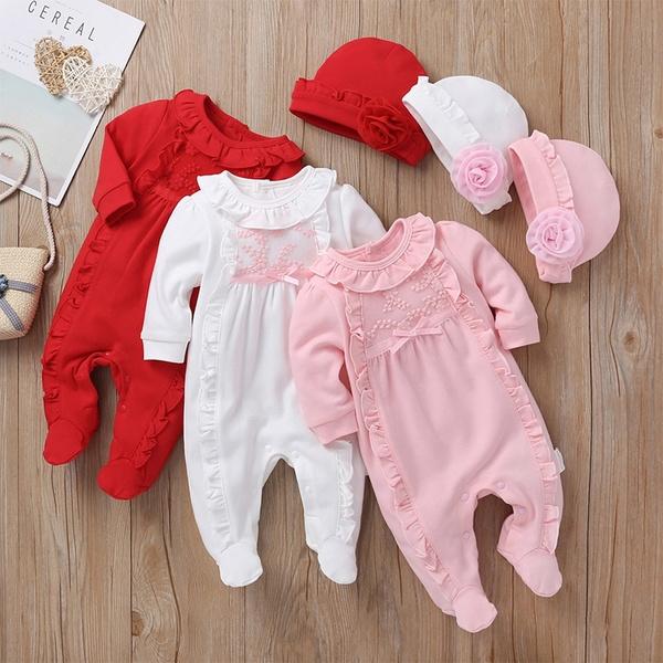 Lace, newbornbaby, longsleevebabyromper, babysummerclothe