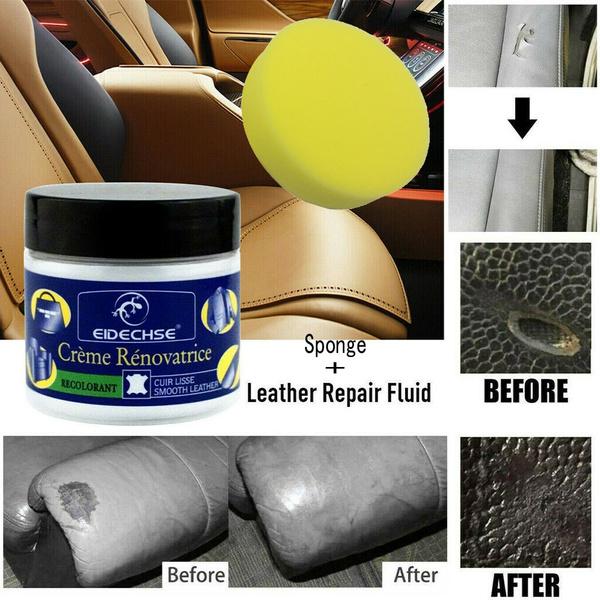Magnificent Reconditioning Leather Cream Sponge Set Vinyl Repair Kit Auto Car Seat Sofa Coat Spiritservingveterans Wood Chair Design Ideas Spiritservingveteransorg