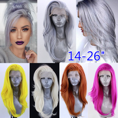 wig, Synthetic Lace Front Wigs, Fashion, Lace