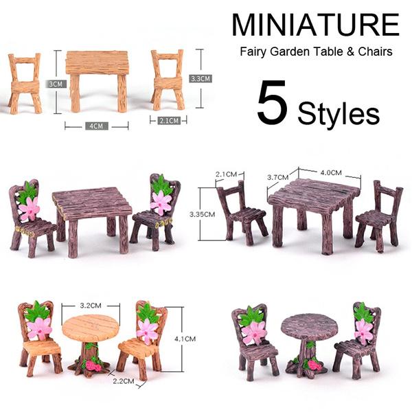 minitable, Garden, miniaturefairygarden, minichair