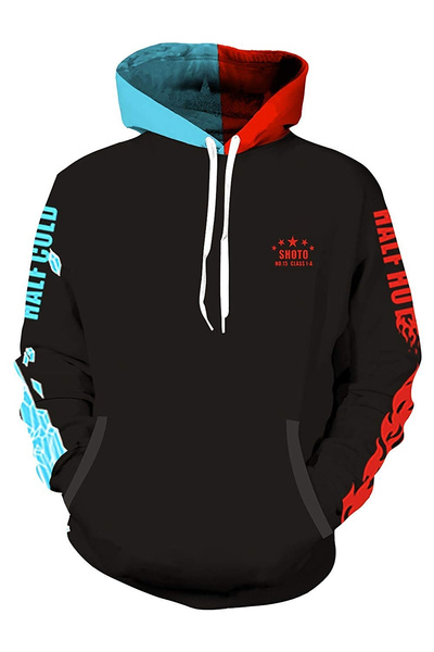 My Hero Academia Bakugou Katsuki Cosplay Pullover Sweatshirt False Two Hoodie