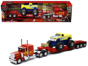 diecast, Toy, Truck, Red