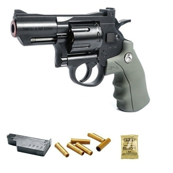 Crosman SNR357 ZP-5 CO2 double ammunition plastic metal revolver air gun  simulation pistol sniper gun toy gun model